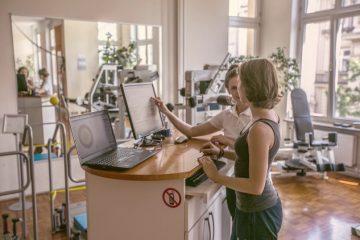 Muskelfunktionsanalyse der Wirbelsäule und des Knies